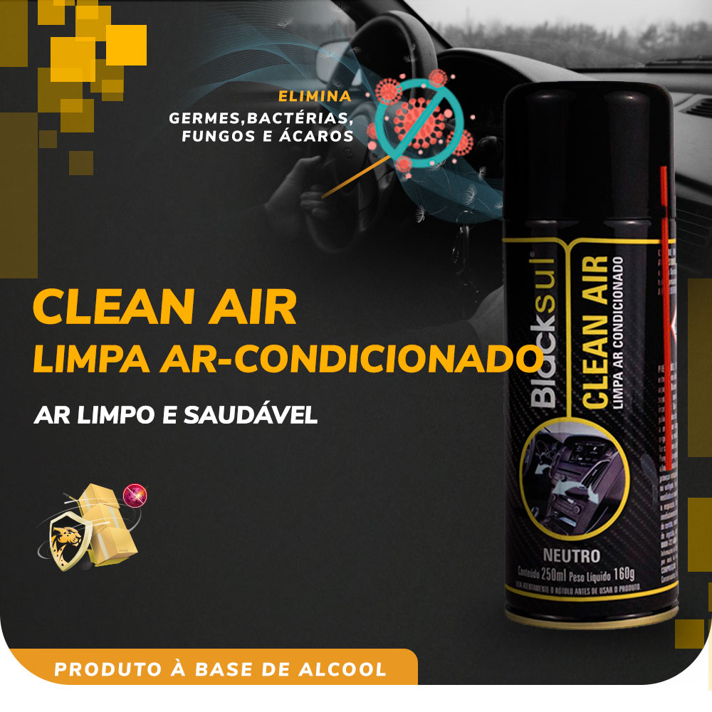 Clean Air Limpa Ar-Condicionado