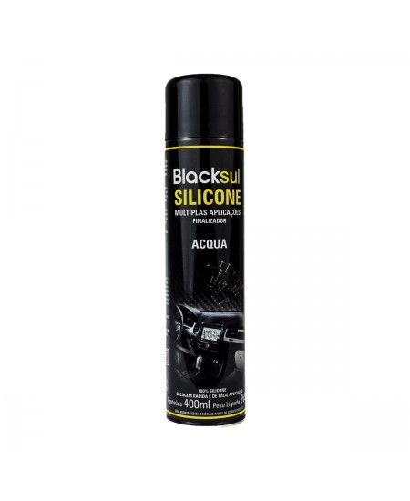 SILICONE AROMATIZADO SPRAY ACQUA BLACKSUL 400ML