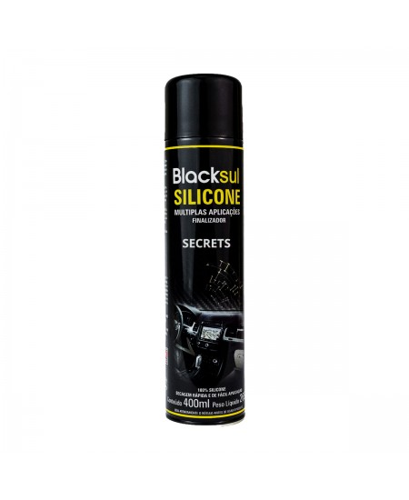 SILICONE AROMATIZADO SPRAY SECRETS BLACKSUL 400ML