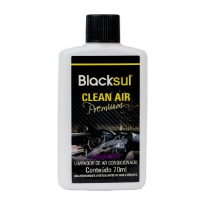 HIGIENIZADOR DE AR CONDICIONADO CLEAN AIR PREMIUM LAVANDA BLACKSUL 70ML