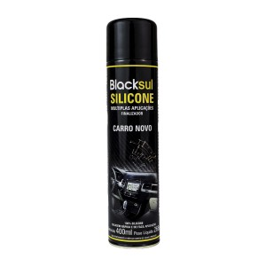 SILICONE AROMATIZADO SPRAY CARRO-NOVO BLACKSUL 400ML